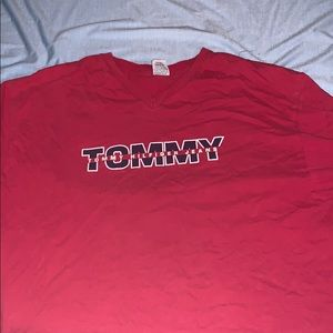 Red Classic Tommy Hilfiger Shirt!